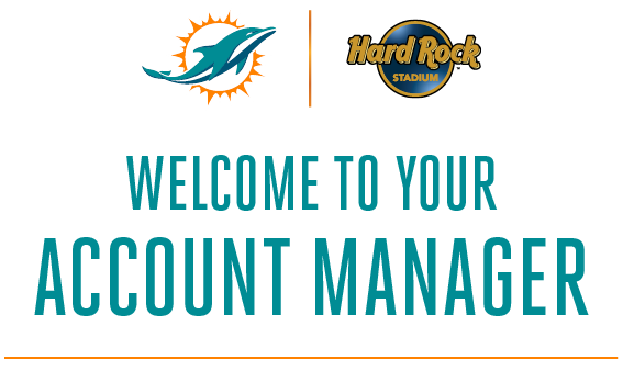 Miami dolphins account manager